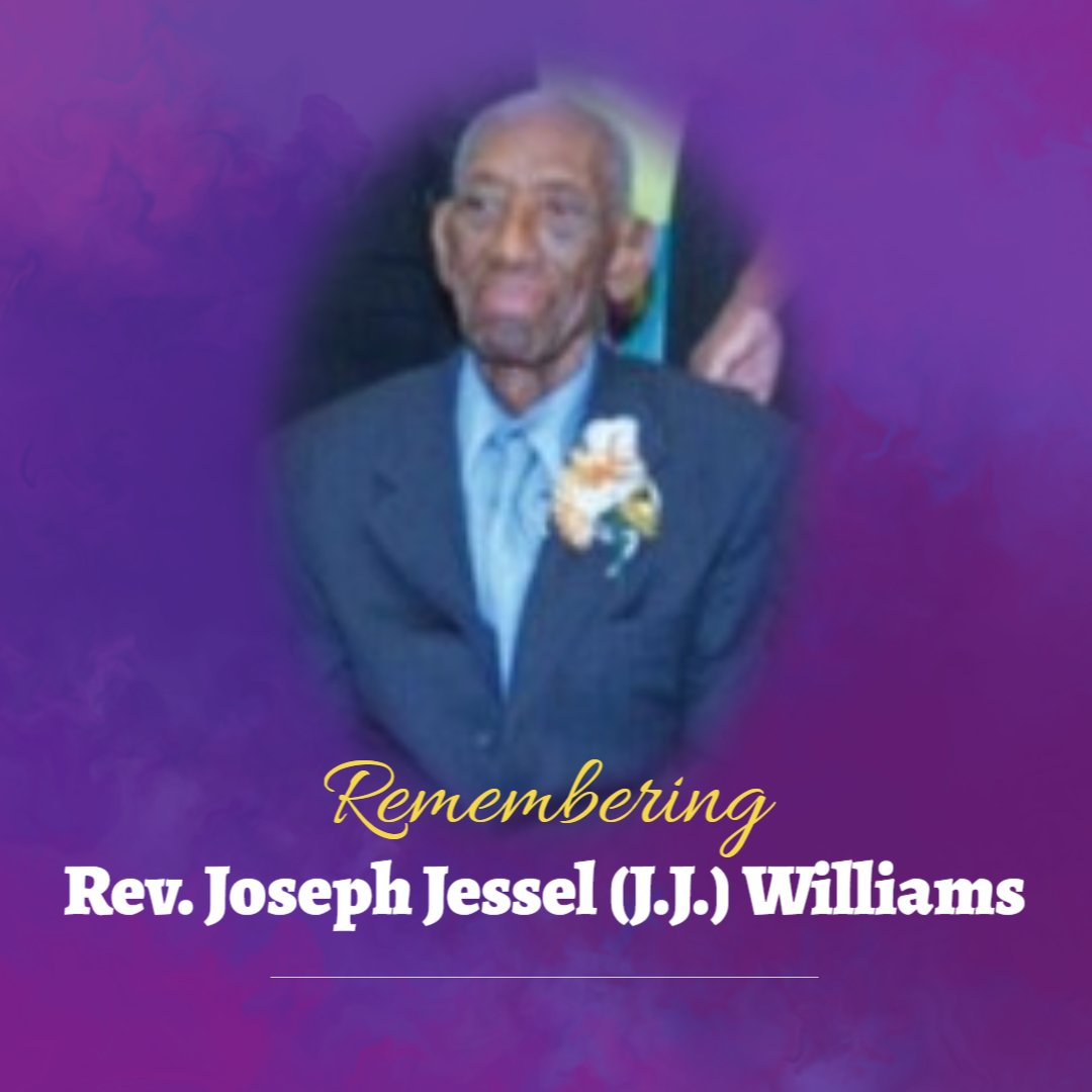 Memorial Service – Rev. Joseph Jessel (J.J.) Williams