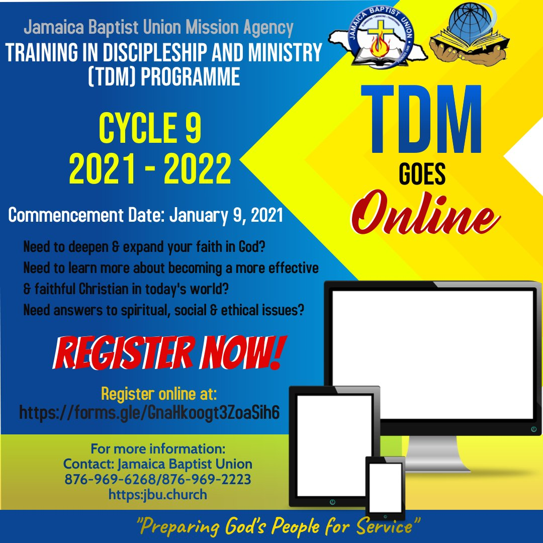 Training in Discipleship and Ministry Programme, Cycle 9