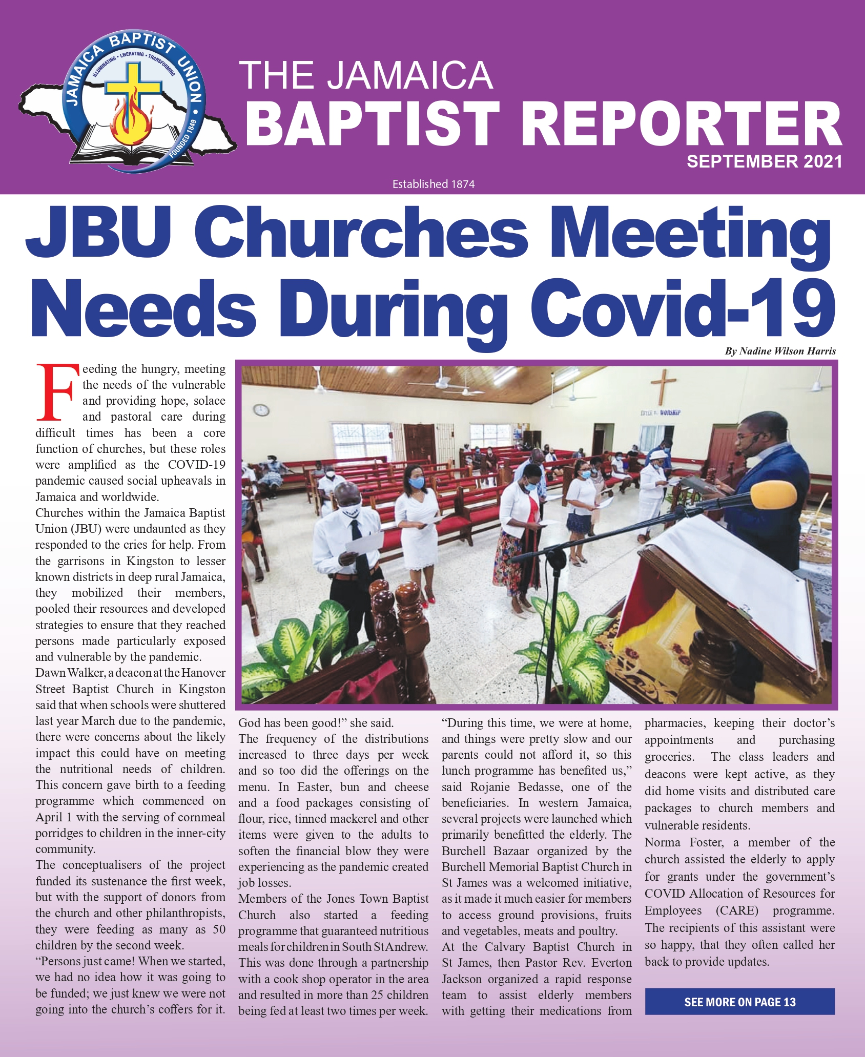 Read more about the article JBU Baptist Reporter: September 2021